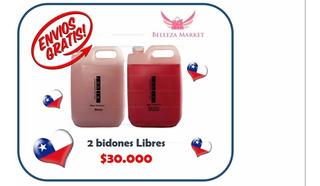 5 Botellones De Productos Jolie 5lts C/u Keratina, Botox, Sh