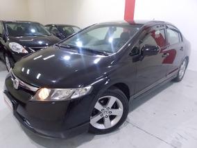 Honda Civic Lxs 1.8 Automatico 2008 Flex Com Couro