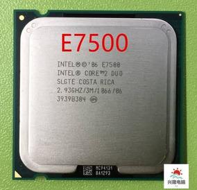 Processador Intel E7500 2,93ghz Frete Grátis
