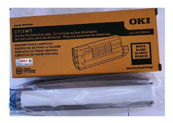 Toner Branco Okidata C711wt Original
