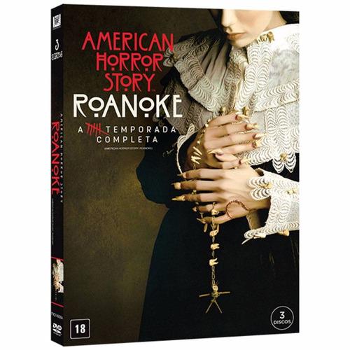 Dvd American Horror Story - Roanoke - 6ª Temp - Original