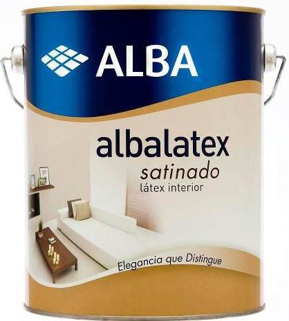 Albalatex Satinado Blanco 10lt-latex Alba Interior Pintumm