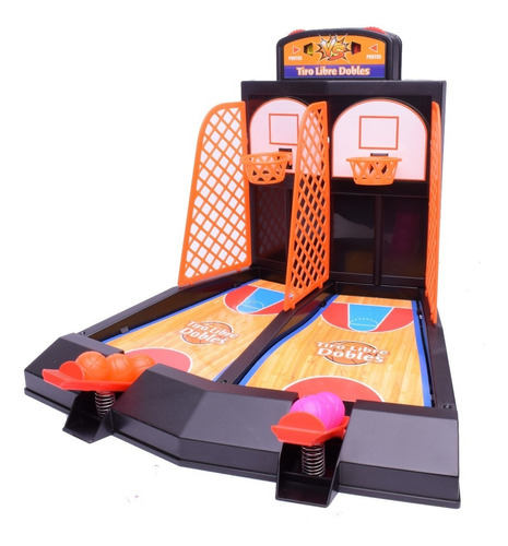 Juego De Mesa Tiro Libre Dobles Basket El Duende Azul 6646
