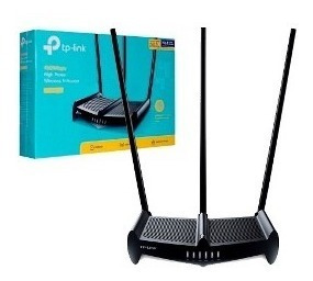 Router 4p Tp-link Wr941hp N450 High Power 3x9dbi