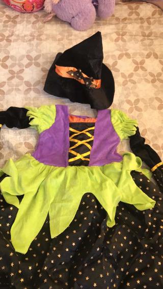 Disfraz Bruja Talla 8 Años