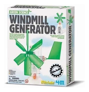 4m Green Science Windmill Generator Aerogenerador.
