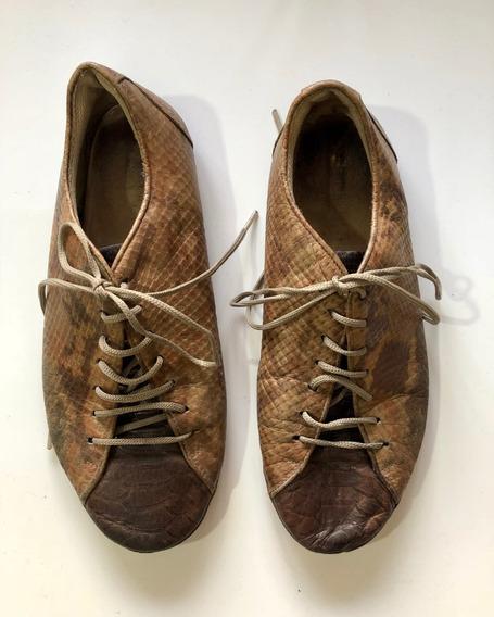 Zapatillas Mujer De Cuero Marca Prune Numero 36
