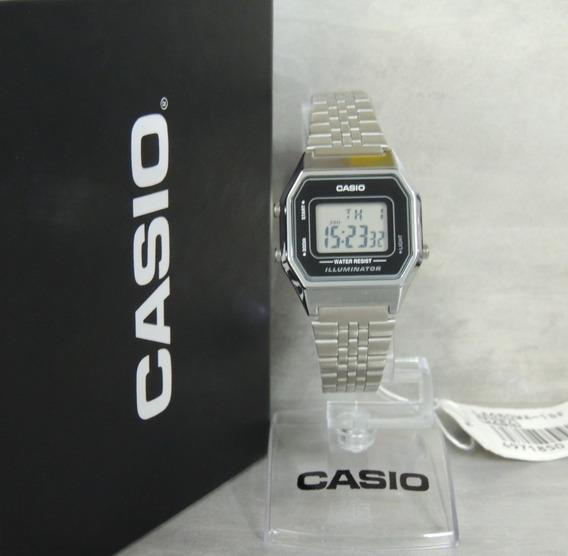 Relógio Casio Vintage Feminino La680wa-1df - Nf Egarantia