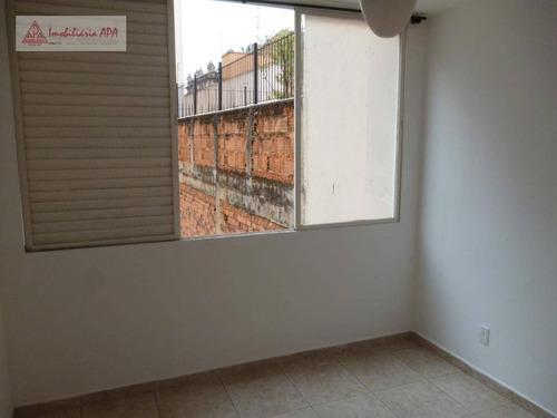 Ap Com 2 Dormitórios, Sala, Cozinha, Área De Serviço, 01 Banheiro À Venda, 52 M² Por R$ 350.000 - Vila Buarque - São Paulo/sp - Ap1614