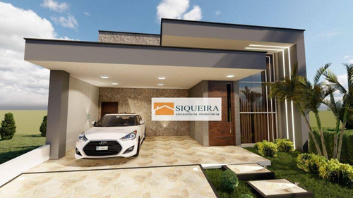 Imagem 1 de 6 de Condomínio Ibiti Reserva - Casa Com 3 Dormitórios À Venda, 197 M² Por R$ 980.000 - Ibiti Reserva - Sorocaba/sp - Ca2116