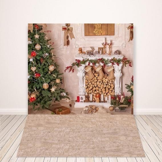 Kit De Natal - Fundo Fotográfico, Papai Noel E Acessórios