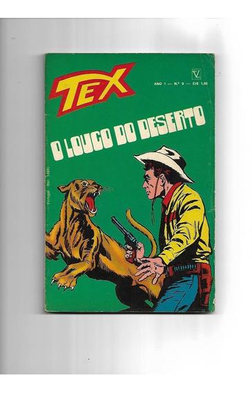 Tex - 1a. Edição - N. 9 - Outubro De 1971 - Editora Vecchi -