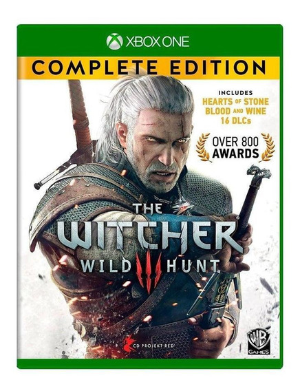 The Witcher 3 Wild Hunt Complete Edition Xbox One Física