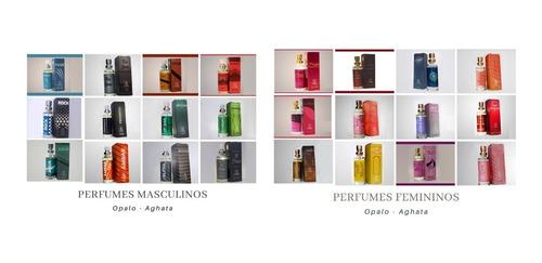 Imagem 1 de 5 de Kit 3 Und; Perfumes De Bolsa Opalo 16ml - Escolha Do Cliente