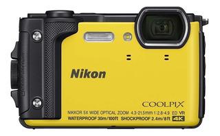 Nikon Coolpix W300 compacta amarilla