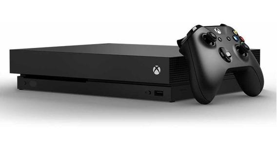 Xbox One X 1tb 4k Hdr - Lacrado - Pronta Entrega - Garantia