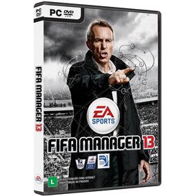 Fifa Manager 13 Pc - Original - Mídia Física - Frete Grátis