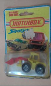 Matchbox Lesney England N 29 Tractor Shovel Blister 1/64