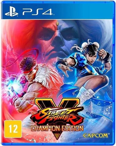 Street Fighter V 5 Champion Edition Ps4 Mídia Física Lacrado