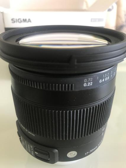 Sigma Dc 17-70mm F/2.8-4 Os Hsm P/ Nikon Contemporary