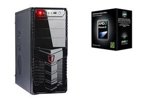 Cpu Computador Quad Core 4 Gb Ram Ssd 240 Gb Win10 Wi-fi