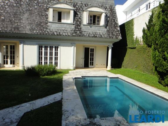 Casa Assobradada - Cidade Jardim - Sp - 576102