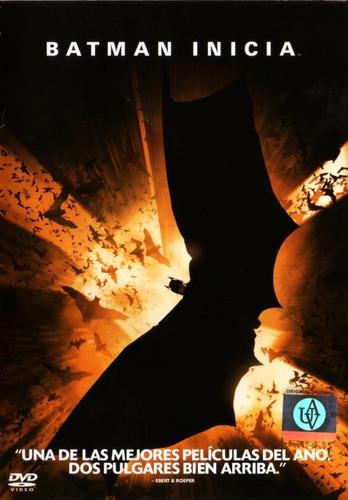 Imagen 1 de 3 de Batman Inicia ( Christian Bale / Dc Comics ) Dvd Original