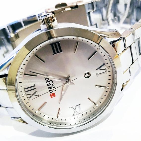 Relógios Femininos Pulseira Em Aço Tamanho Médio De Luxo