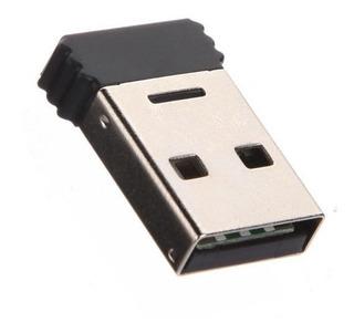 Adaptador Mini Bluetooth Usb 2.0 10 Mts Plug And Play Win10
