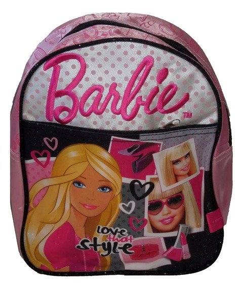 Mochila Barbie Para Jardin Divina En Villa Crespo