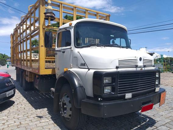 Mb 1318 6x2 1987 Gaiola De Gas, Vendo C Serviço, Revisado