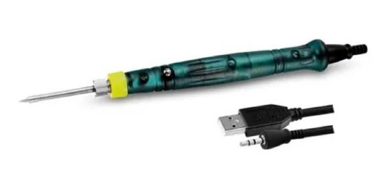 soldadura, pirograbado, grabado de madera, joyas juego de soldador con temperatura ajustable 330 450 /°C Soldador USB soldador y juego de soldadura 5 V 8 W