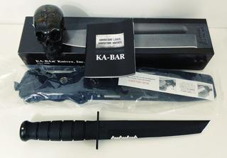 Faca Ka Bar 1245 - Lâmina Tanto Com Serrilhado - Original