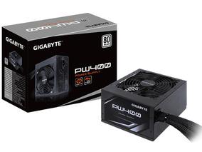Fonte Gigabyte Pw400 80 Plus White Power Supply Bivolt