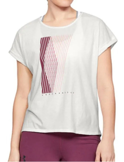 Remera Under Armour Training Graphic Entwined Mujer Mf
