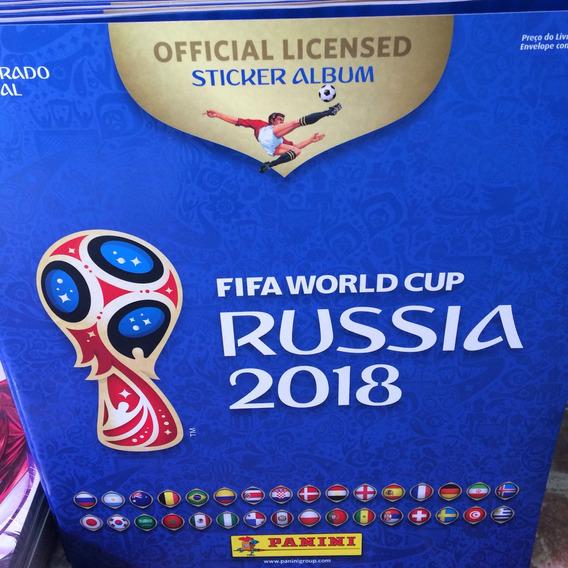 Álbum De Figurinhas - Copa Rússia 2018