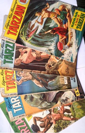 Tarzan Bi - Coleção 34 Números - Ebal (1968/1976)
