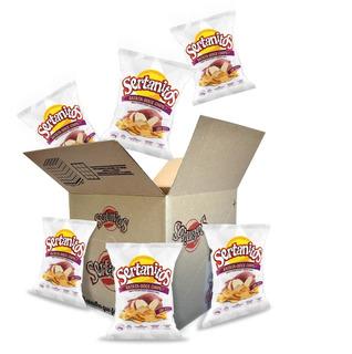 Caixa Com 20 Chips Sertanitos 50g Sem Glúten - Batata Doce