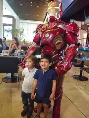 Personaje De Ironman Para Eventos, Lanzamientos, Cumpleaños