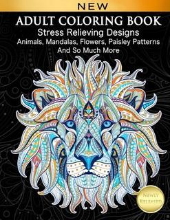 Mandalas El Libro De Colorear Para Adultos Relajante