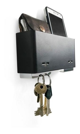 Porta Llaves De Pared Recibidor Metálico Diseño Orig. Muett