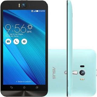 Asus Zenfone Selfie Zd551kl 32/3gb 13mp Azul Mancha Tela