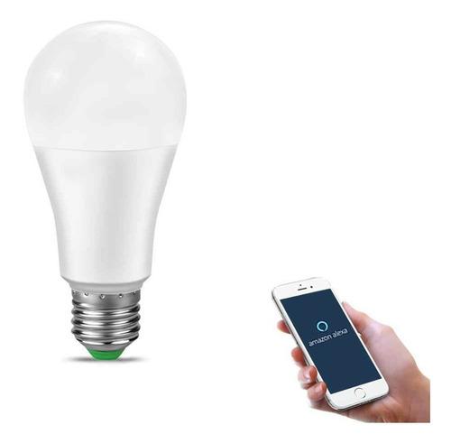 Imagem 1 de 7 de Lampada Led Inteligente 15w Android Smart Wifi Bivolt