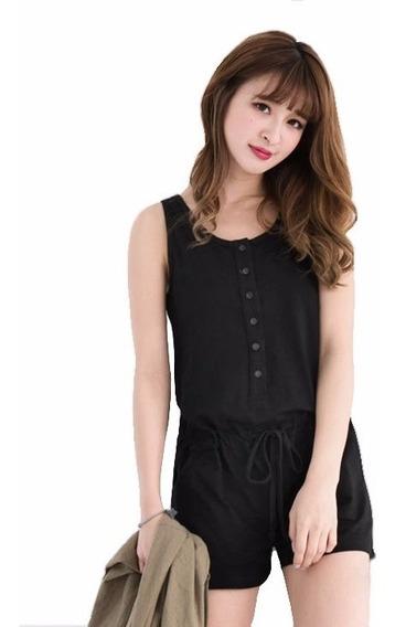 Fresco Mono Jumper Short-blusa Moda De Mujer 5214
