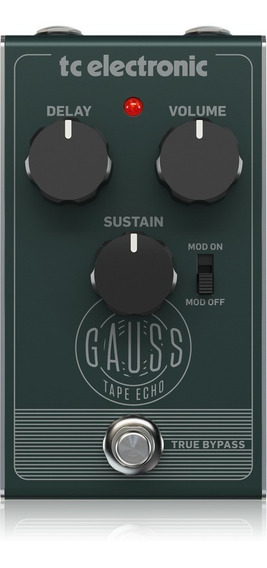 Pedal Para Guitarra - Gauss Tape Echo ¿ Tc Electronic