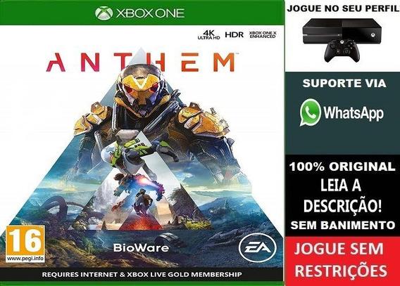 Anthem Xbox One Aluguel 15 Dias