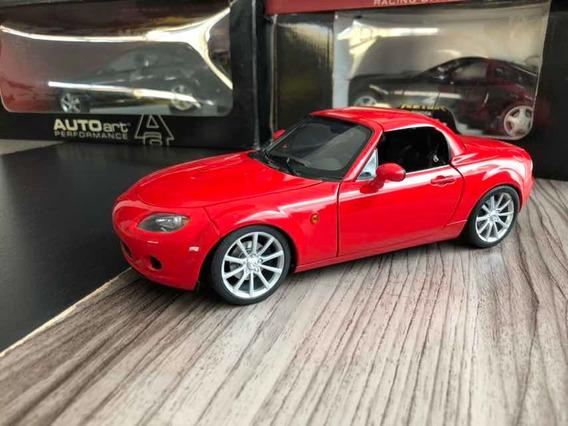 Mazda Mx5 1/18 Auto Art Raríssimo!