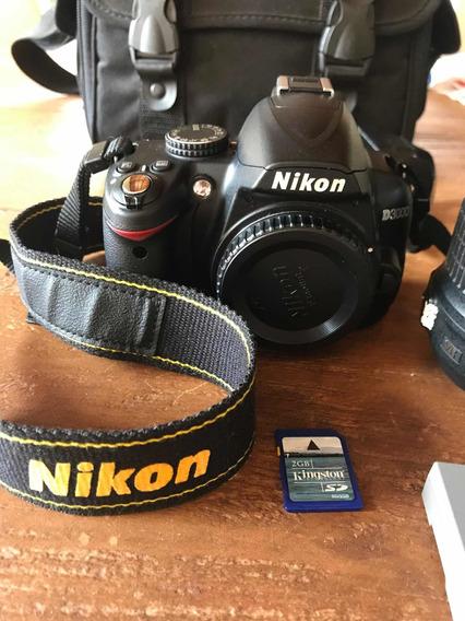 Câmera Nikon D3000