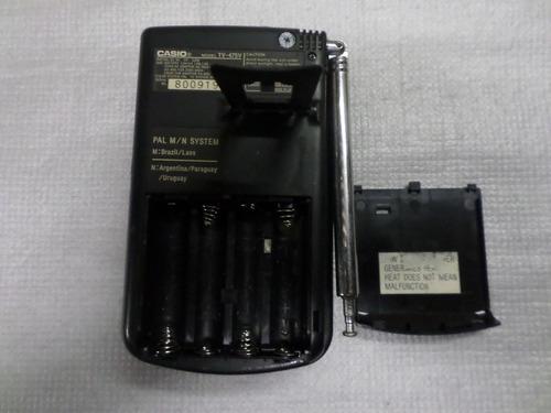 Tv Pocket Casio Colorida Mod Tv-475v Pal M,no Estado