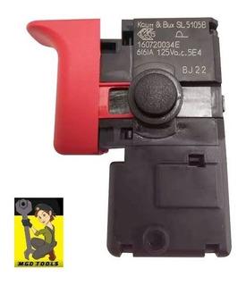 Interruptor Bosch Original Furadeira Gsb 13/gsb 550 127v